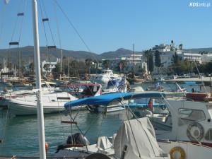 Port w mieście Kos
